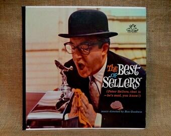CRAZY CUPID SALE Peter Sellers - The Best of Sellers - Vintage Vinyl Record Album