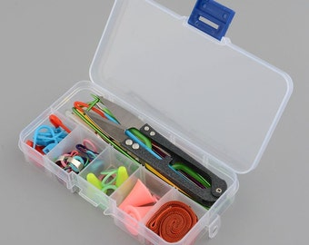 Home DIY Knitting Tools Crochet Yarn Hook Stitch Weave Accessories Supplies With Case Box Knit Kit - Crochet Tools