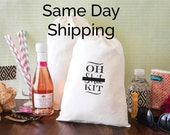 Oh Sh*t Kit Bags - Hangover Kit Bags - READY TO SHIP - Mature content