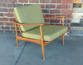 Mid-Century Danish Teak Club Chair