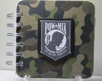POW/MIA  Password Book