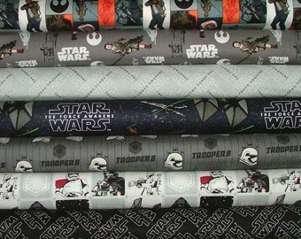 Star Wars Fat Quarter Bundle of 7 by Camelot Design Studio