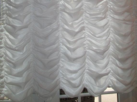 Austrian Balloon Sheer Window Treatments For Large Windows