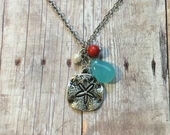 Gorgeous sand dollar necklace