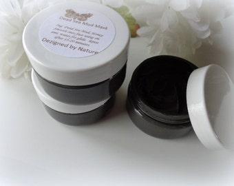 Dead Sea Mud Mask with Honey - 2 oz jars