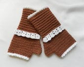 Special listing for Marie - Louise- crocheted gloves