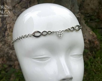 Triketa Chain headpiece