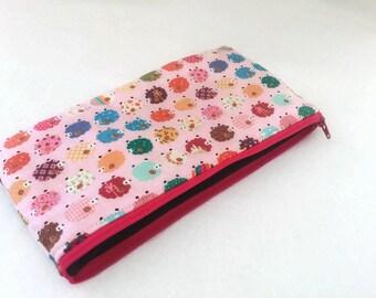 Sheep fabric Pencil Case