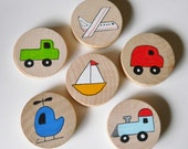 Jumbo Memory Game, Transportation,  waldorf toys, games and puzzles,, Matching Game