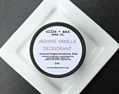 Jasmine Vanilla Natural Vegan Deodorant