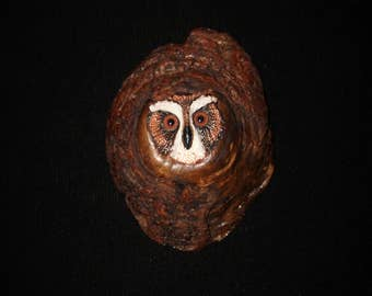 Wood Carving -Bird Carving - OOAK -  Hand Carved and Sculpted in Walnut Knot