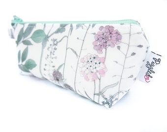 "Makeup Bag Pouch - Liberty of London Oilcloth (""Irma"")"