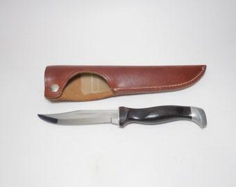 Vintage Cutco 1769 Hunting Knife and Leather Sheath, Cutco Hunting Knife, Cutco Outdoor Knife, Cutco Hunter, Cutco Knife, Cutco, Cutco USA