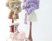 RESERVED FOR SUSAN 1/12 scale dollhouse ladies accessories