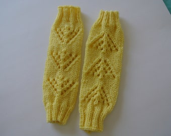 Baby/Toddler Knitted Leg Warmers!