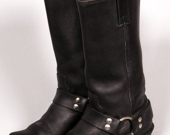 30% OFF Black MOTORCYCLE Boots Women's Size 6 .5 M