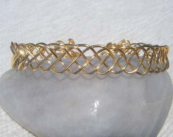 Celtic Gold Plated Bracelet Ref 4008