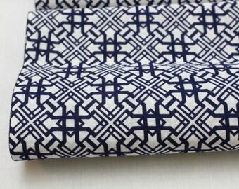 Japanese Vintage Yukata Cotton Fabric. Full Bolt Available (Ref: 1212 )