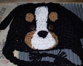 Bernese Mountain Dog Berner Puppy Hat Toddler Baby Photo Studio Prop Hat Photography