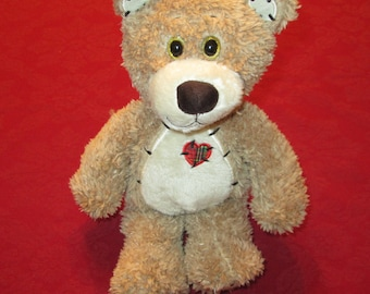 Teddy Bear for Sale With Music Box Movement Inside, 12 inch  - Plush Stuffed Animal  - Your Choice of Song