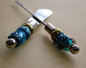 Canape knife etsy for Canape knife set