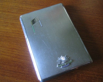 Vintage Australian Commonwealth Military Forces Cigarette Case Made In England