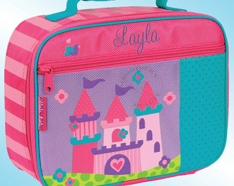 Lunchbox - Personalized and Embroidered - Fully Insulated - PRINCESS CASTLE