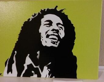 Bob Marley (green)