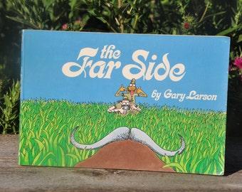 The Far Side by Gary Larson, comedy, joke book, funnies, humor,  1983