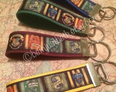 Harry Potter key fobs - All Houses Available - Griffindor Hufflepuff Ravenclaw Slytherin
