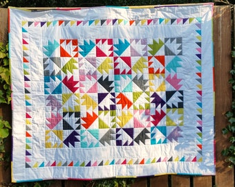 Patchwork quilt | Etsy : handmade patchwork quilts uk - Adamdwight.com