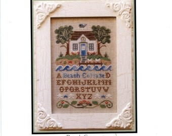 Country Cottage Needlework: Beach Cottage - Cross Stitch Pattern