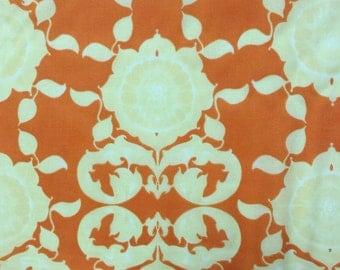 Tina Givens Orange VOILE Fabric - more yardage available