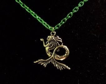 Siren Charm Necklace