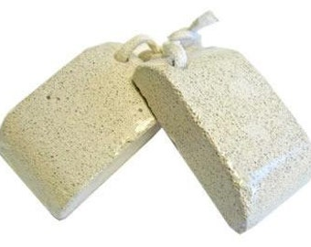 Natural Pumice Stone for your feet -  Large Curved Design