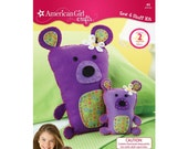 American Girl Crafts Bears Sew and Stuff Kit Make One Bear For You And  A Mini Bear For Your Doll