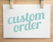 Custom cut auryn decals for Rachel