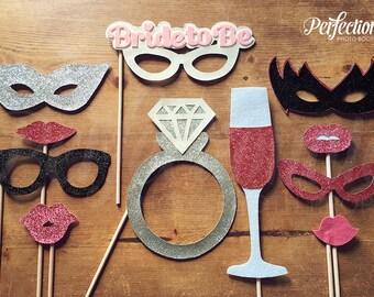 Bachelorette Party Props | 11 Bachelorette Props | Bride to Be Glasses