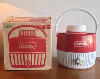 Red Coleman Snow-Lite Jug New In The Box