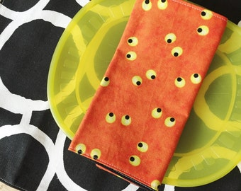 Halloween Placemat and Napkin Set - eyes