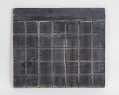 "Chalkboard Calendar, Wooden Distressed  21"" Wide, Kitchen, Office, Business, Dorm"