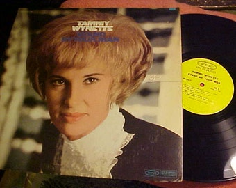 Tammy Wynette Stand by Your Man Stereo BN 26451  Country Western Epic NM-