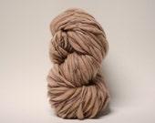 Thick and Thin Merino Yarn Handspun Wool Slub  Hand Dyed tts(tm) Fresh Brew 000x