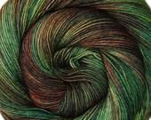 SALE merino silk yarn Destinations Rio de Janeiro hand dyed fingering weight 3.5oz 435 yards