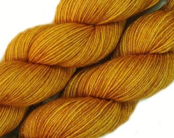 hand dyed yarn DIJON pick your base - sw merino bfl silk nylon stellina fingering dk