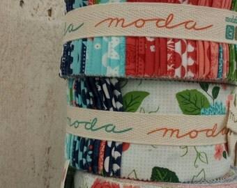 Gooseberry Jelly Roll by Lella Boutique for moda fabrics