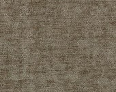 """Timeless Classic Chenille Upholstery Fabric - Durable - Washable - Soft hand - 56"""" wide - Polyester/Viscose - Color:  Mink - Per Yard"""