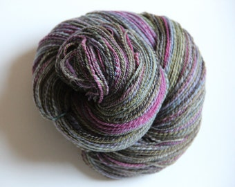 Handspun Yarn: Peepers