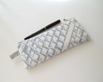 Geekly Pencil Pouch - Keyboard Pencil Pouch - Stocking Stuffer - Gift Under 15