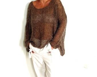 Lightweight Oversized Sweater.